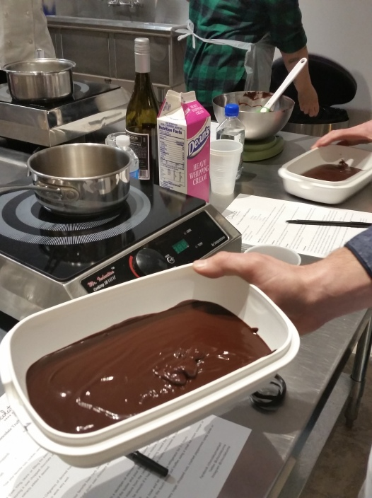 Chocolat melted chocolat