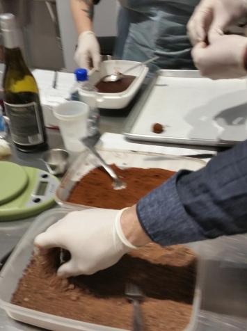 Chocolat rolling chocolate