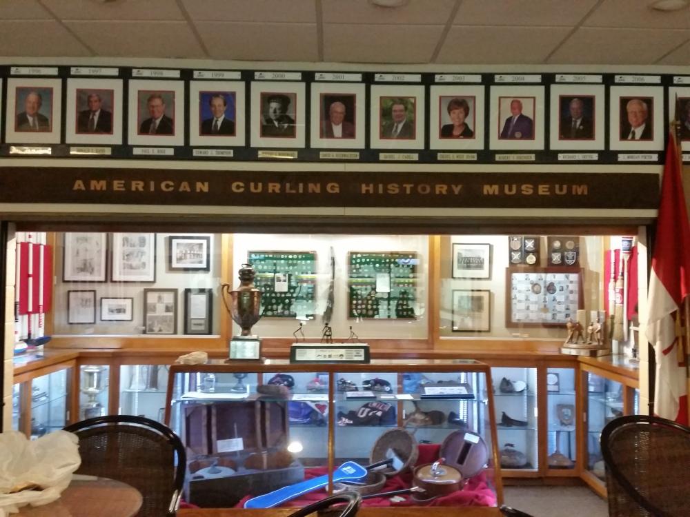 Curling museum