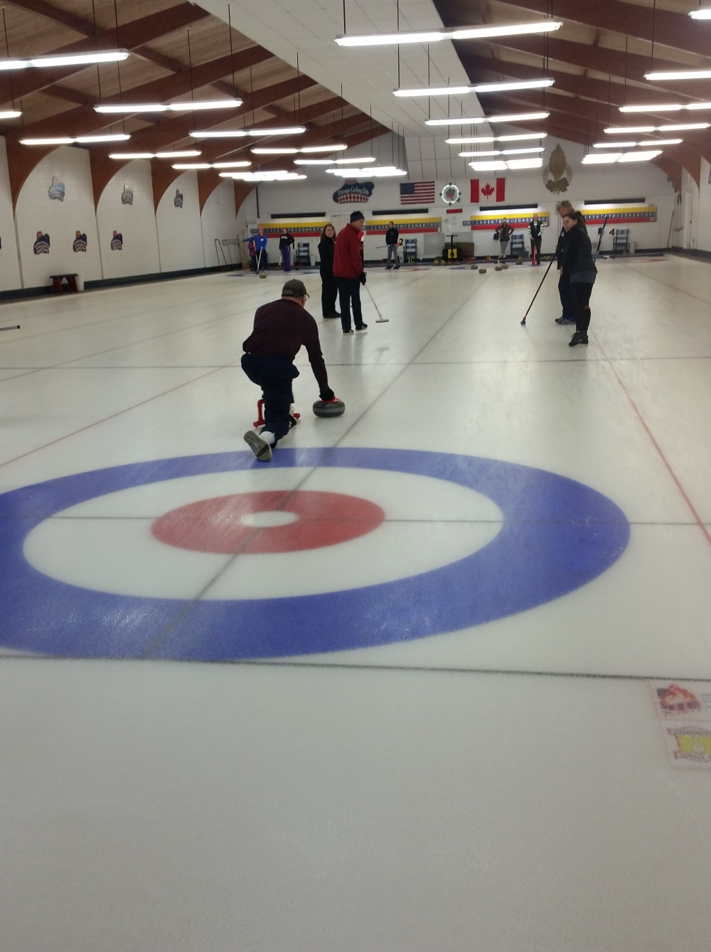 Curling reception