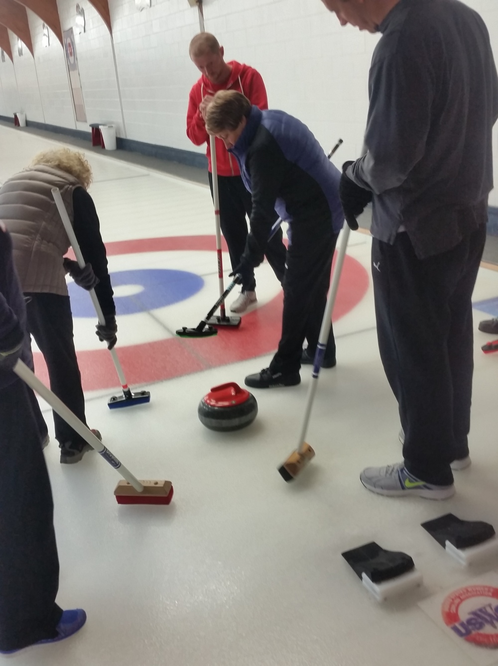 Curling sweep